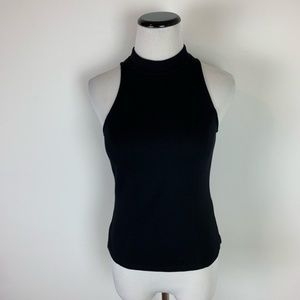 Bardot fitted knit turtle neck